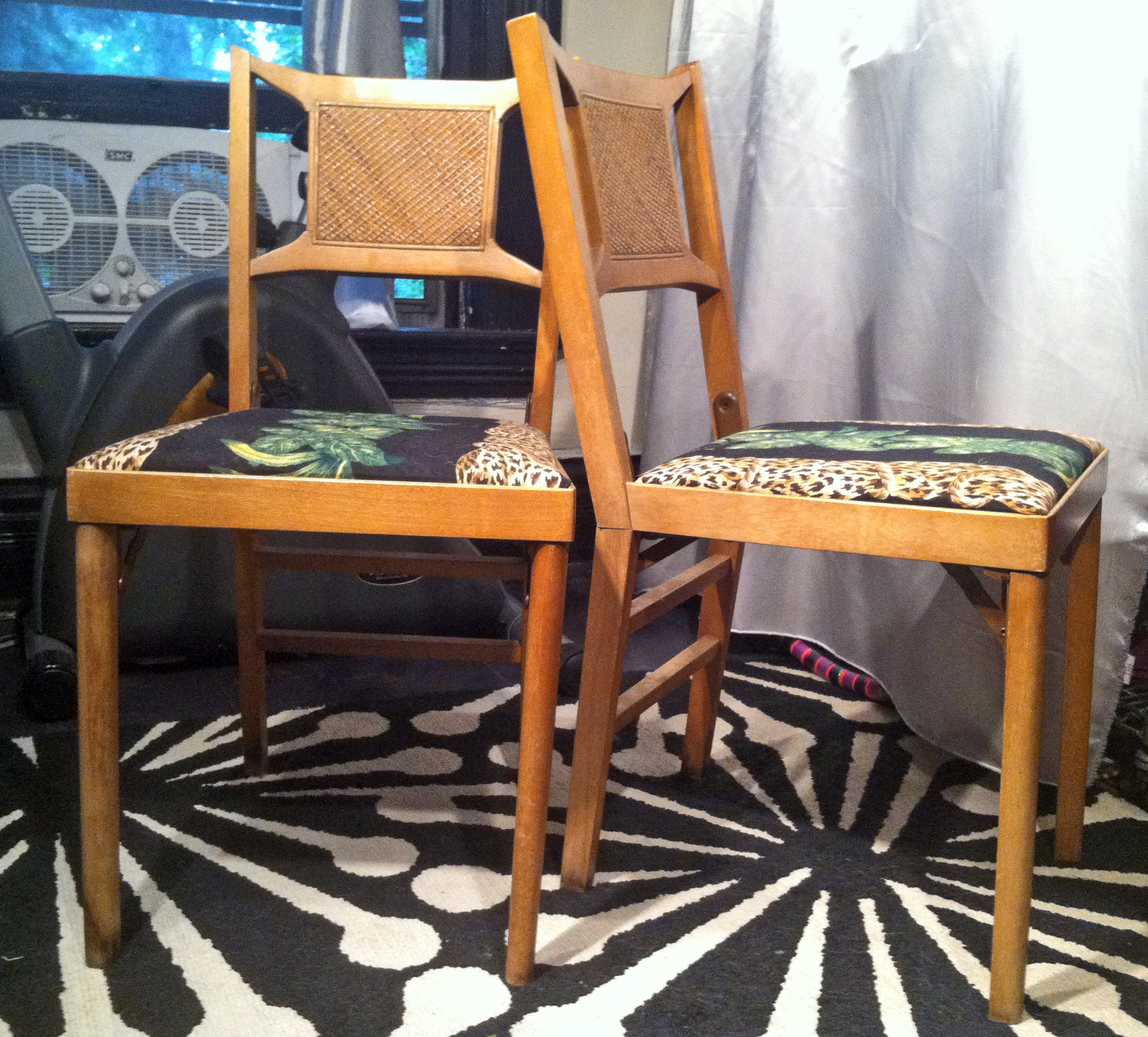 vintage chair restyle