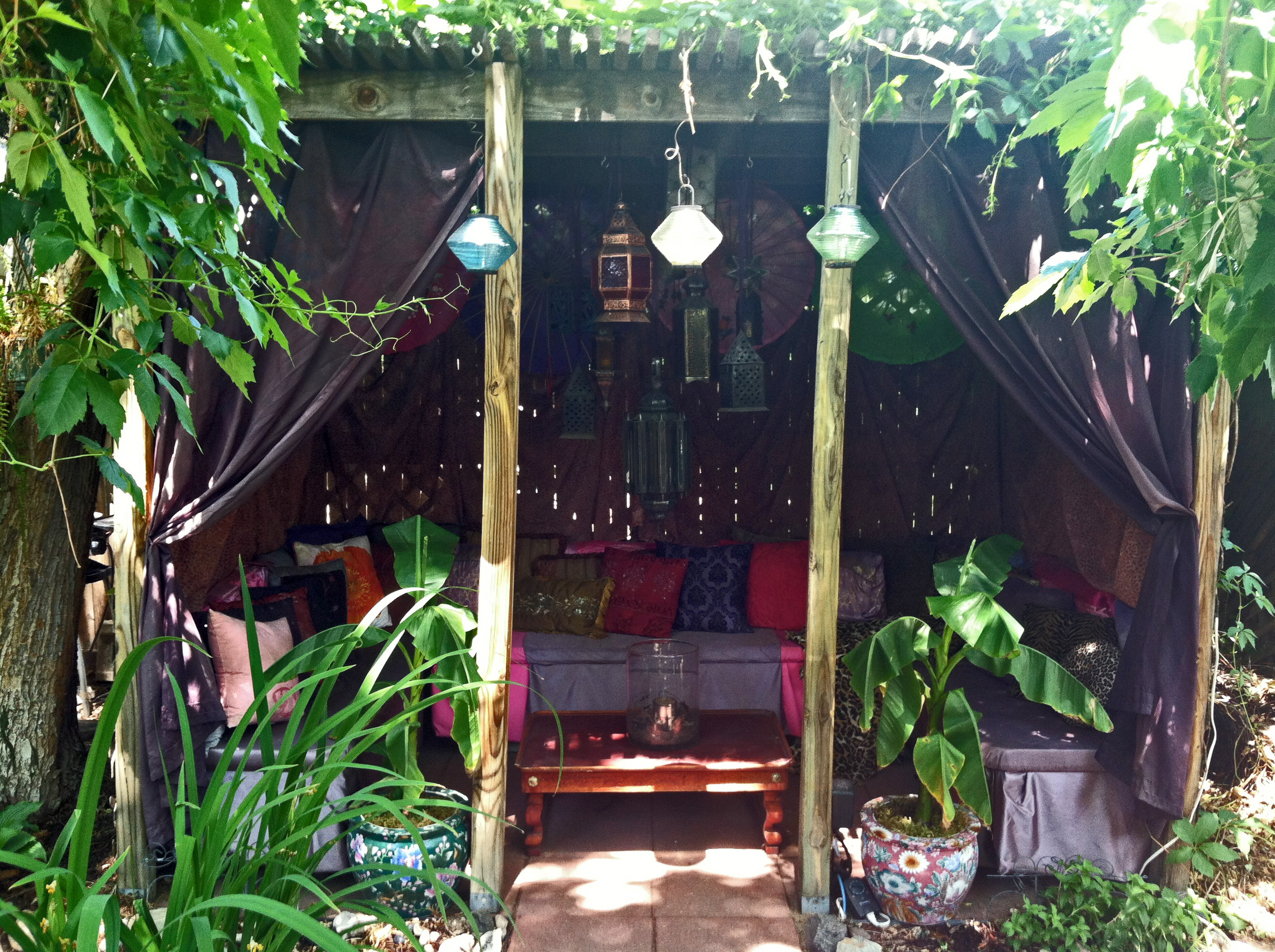 garden oasis the year of living fabulously