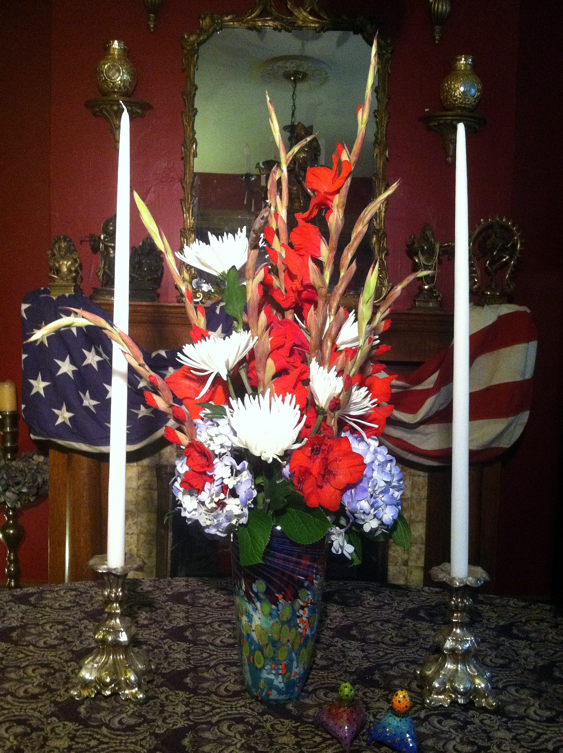 A how to diy stunning star spangled 4th of july fresh flower julyflowersdone2 izmirmasajfo