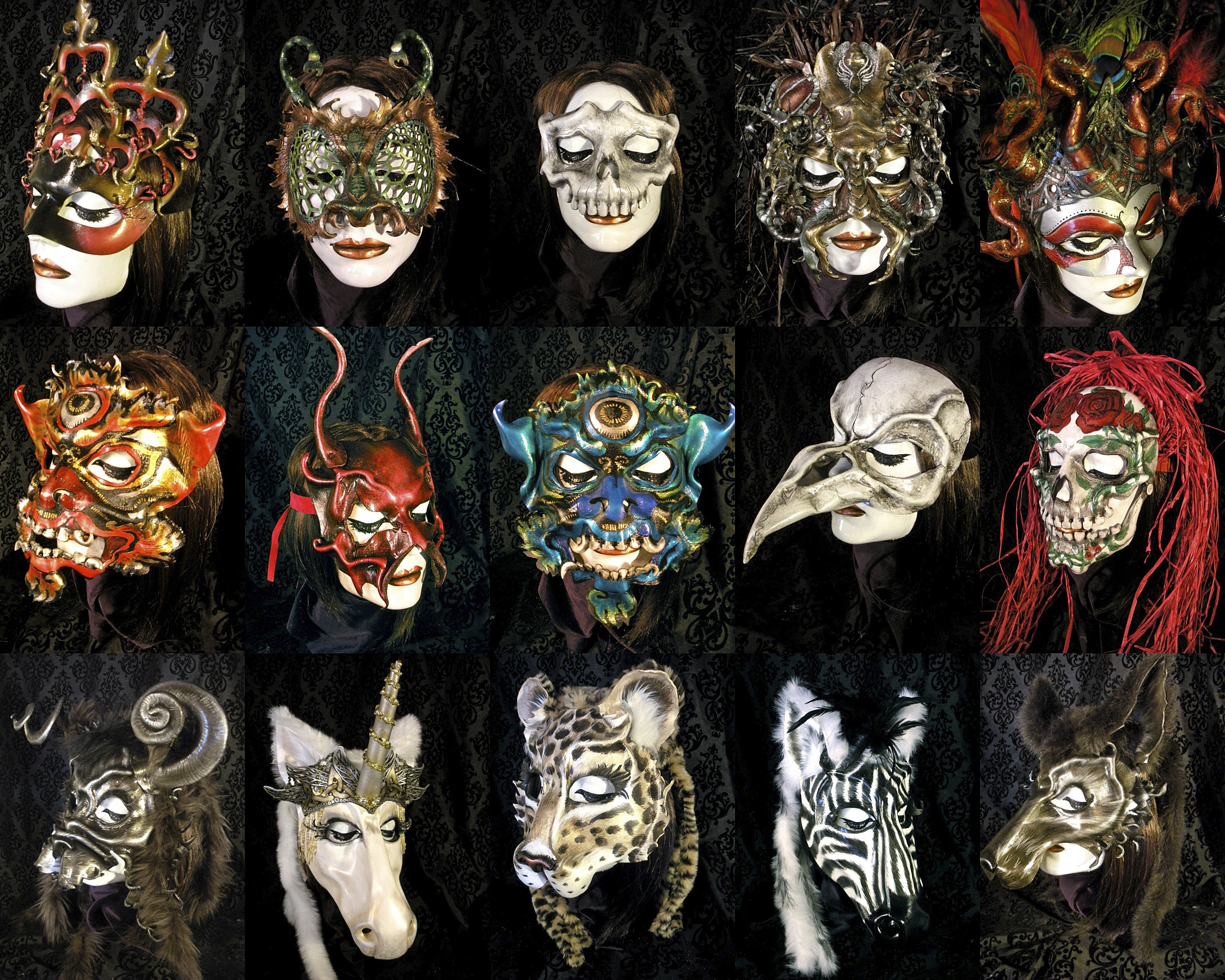 animal mask | the Year of Living Fabulously