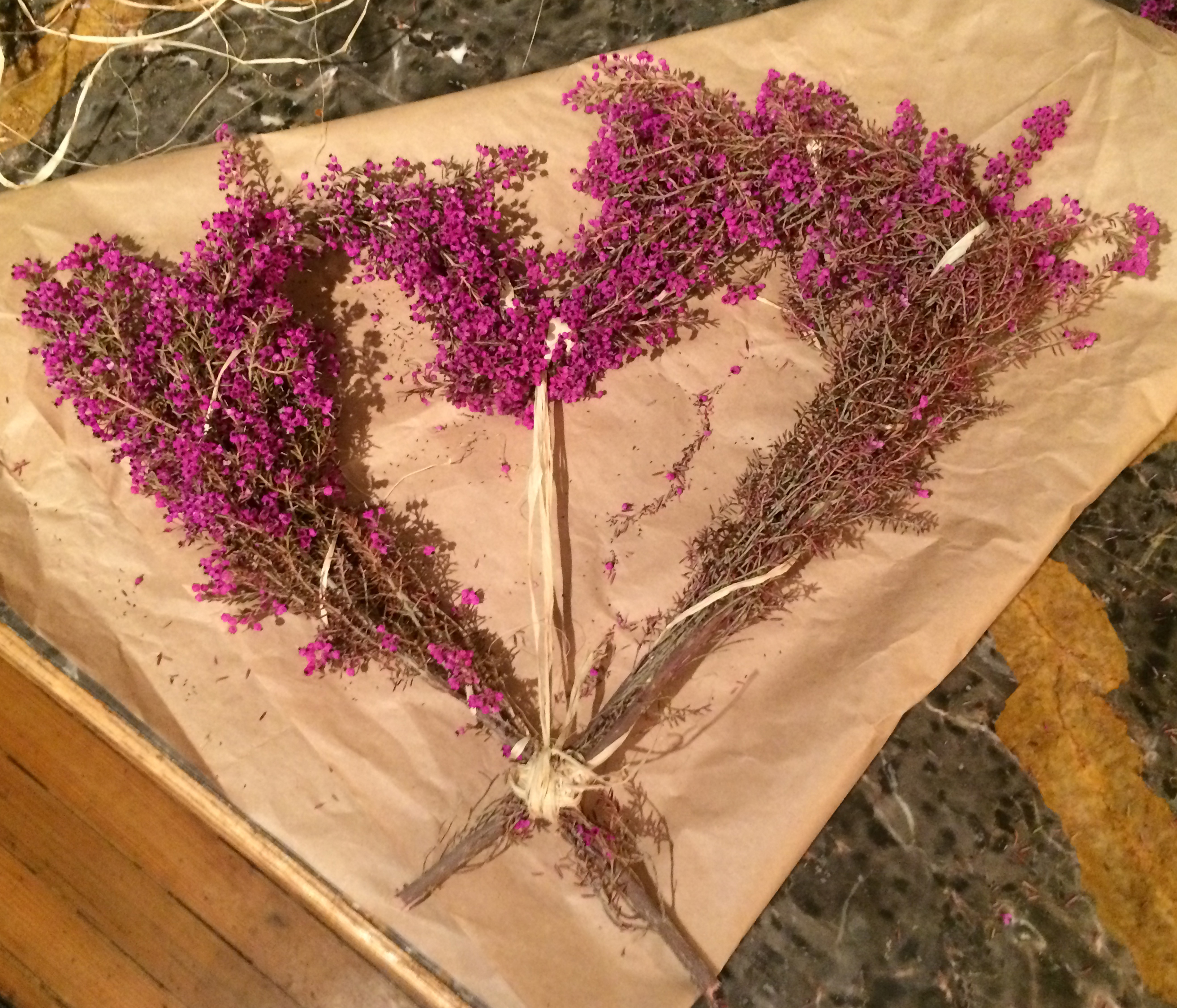 Simple Ie Cheap Diy Valentines Day Heather Hearts Dried Flower