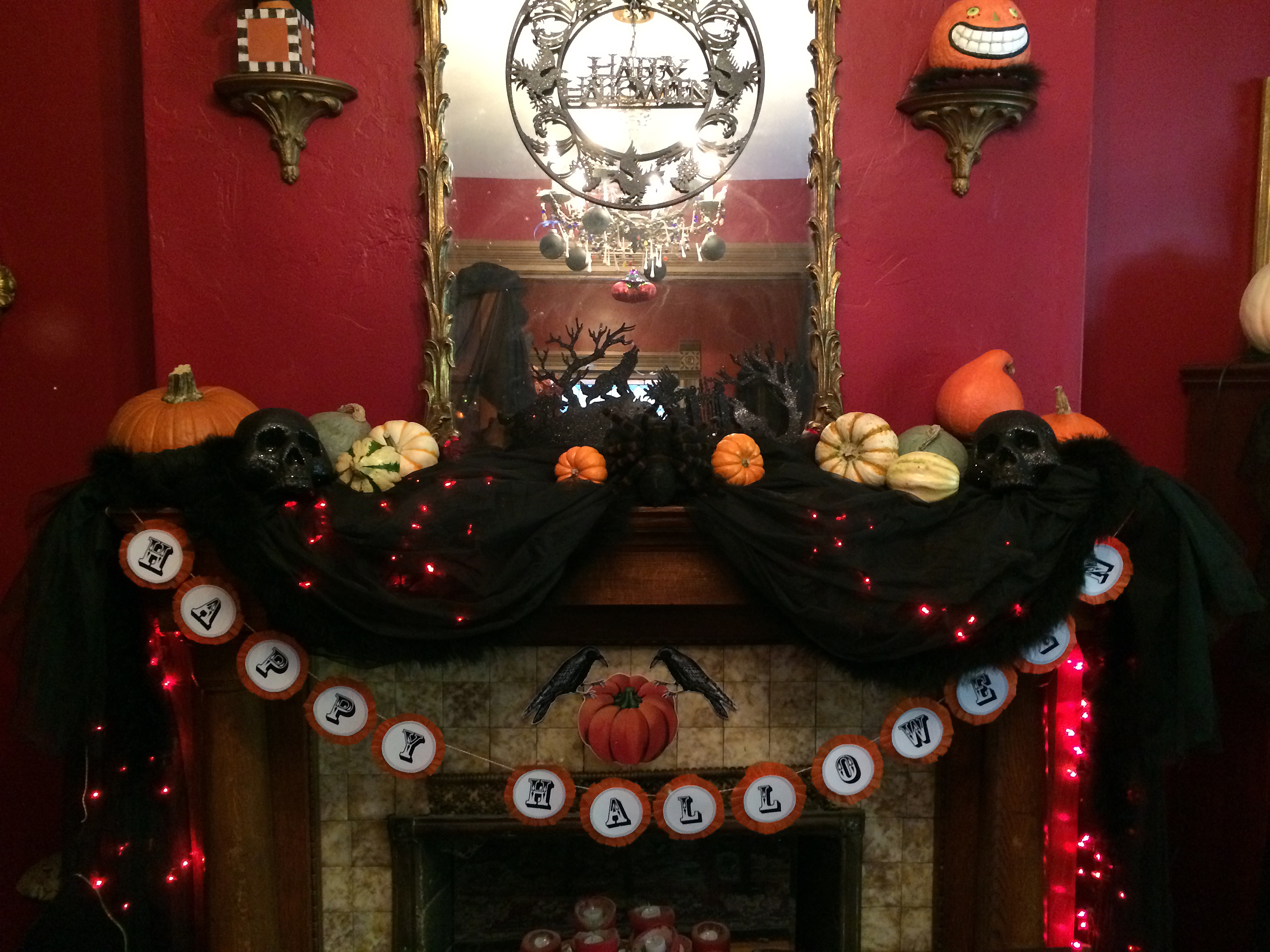 halloween decor | the year of living fabulously