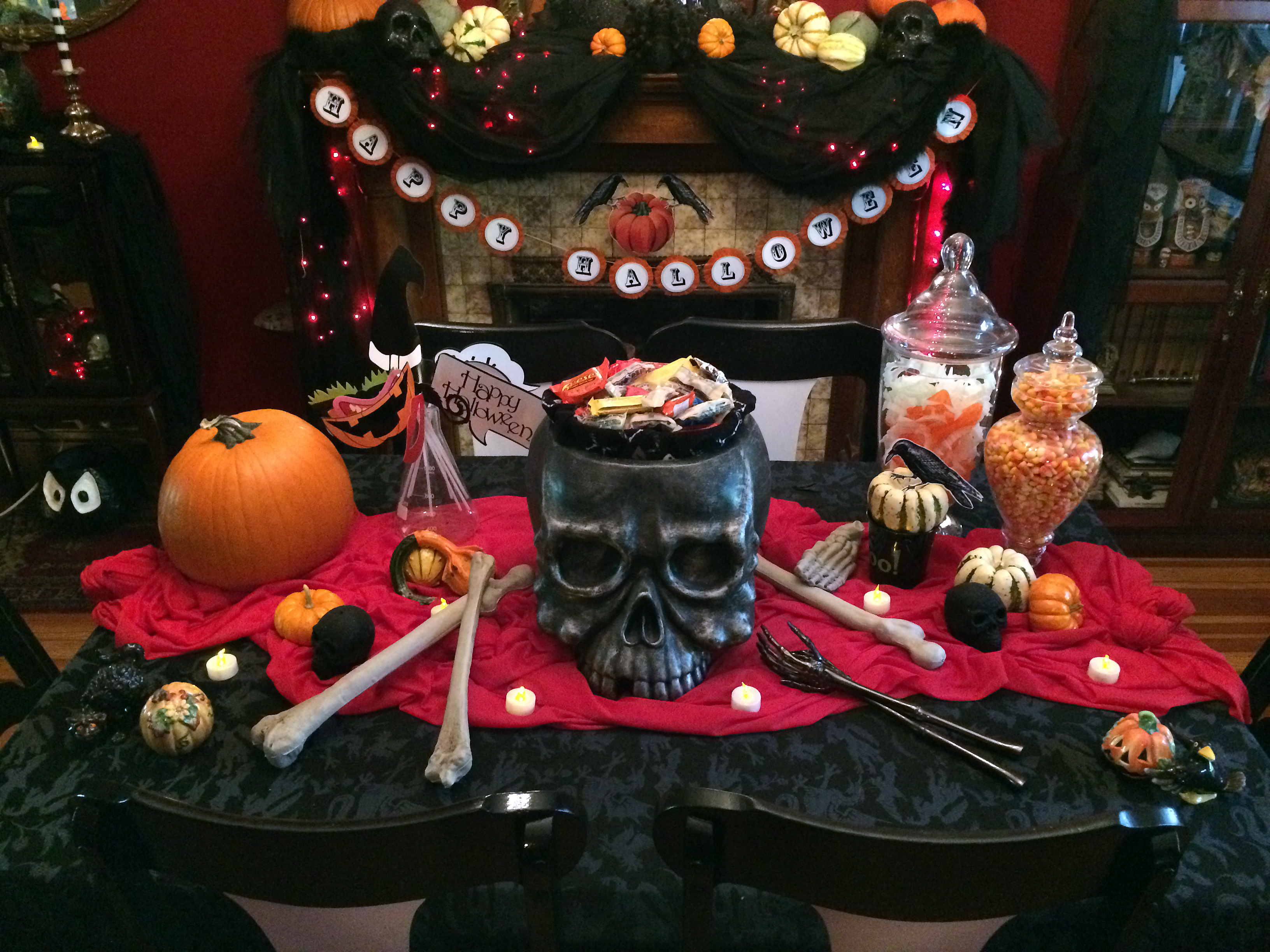37 Ideas For Halloween Table Decorations Table