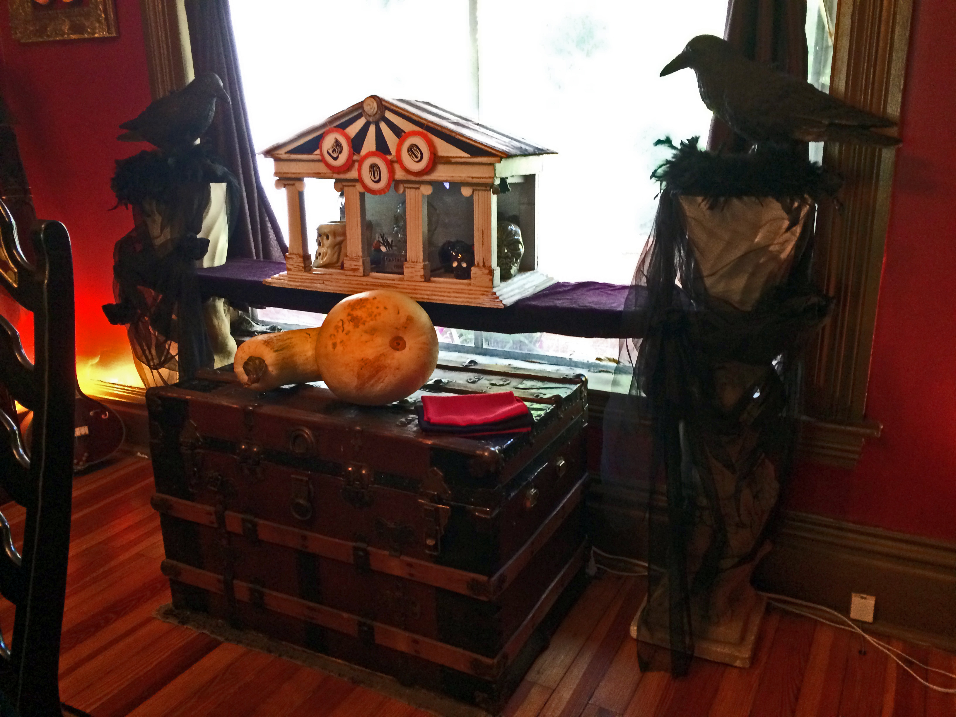 victorian gothic halloween a home tour today the front