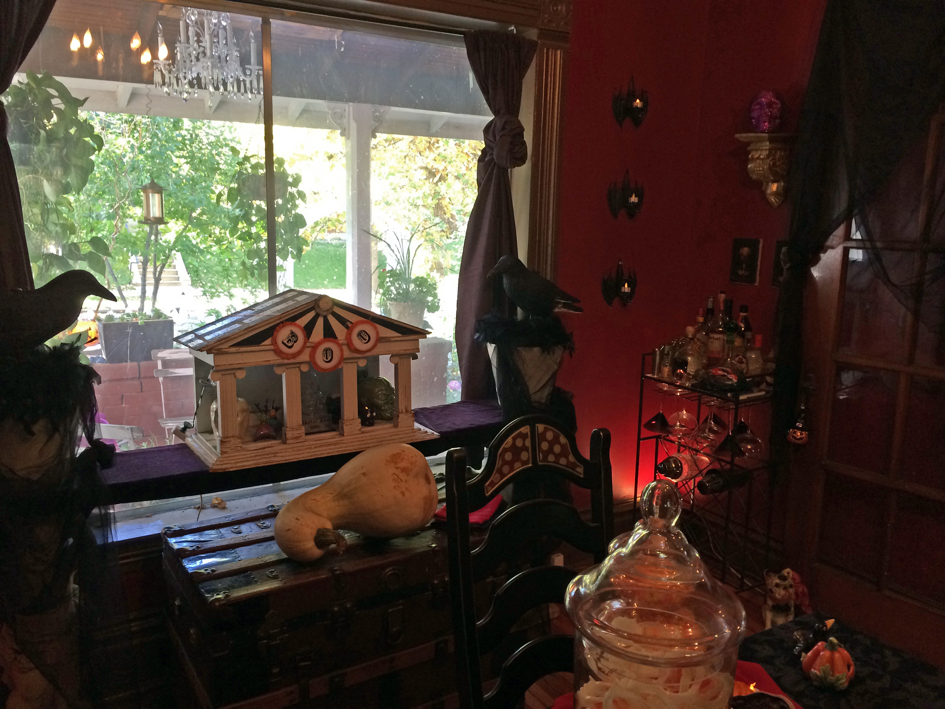 Victorian Gothic HALLOWEEN A Home Tour Today The Front Room