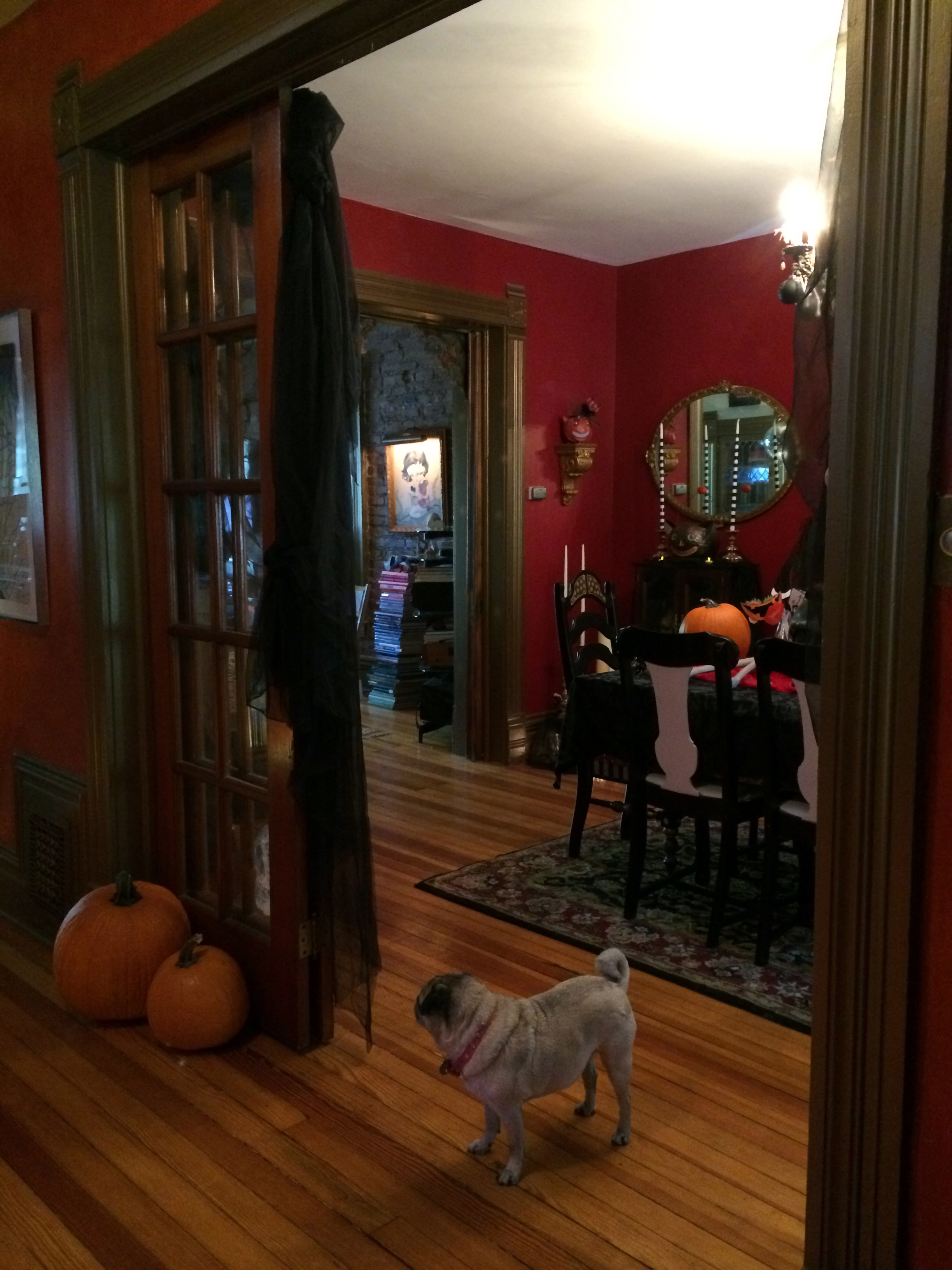 victorian gothic halloween a home tour today the. Black Bedroom Furniture Sets. Home Design Ideas