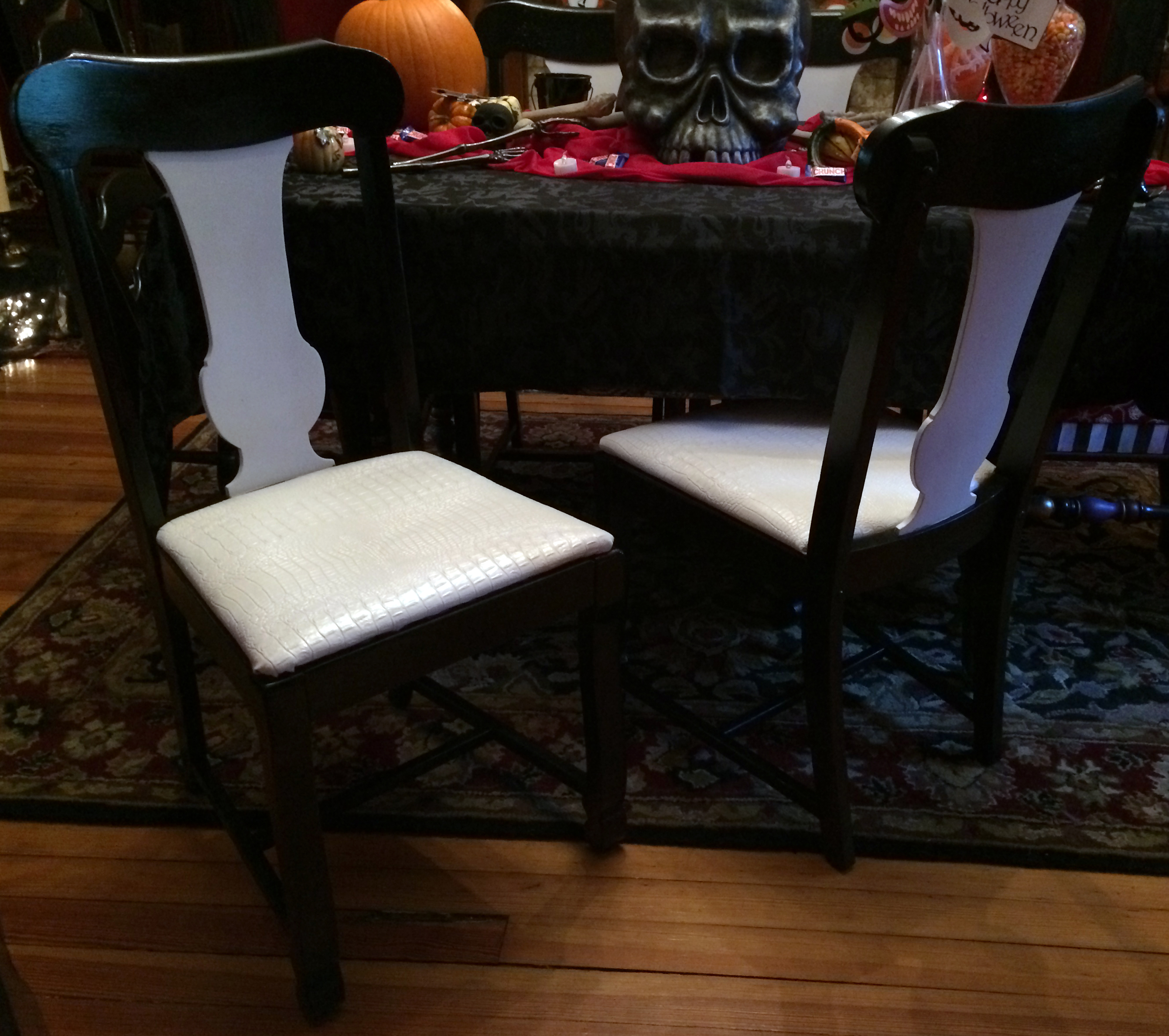 painted chairs | the year of living fabulously