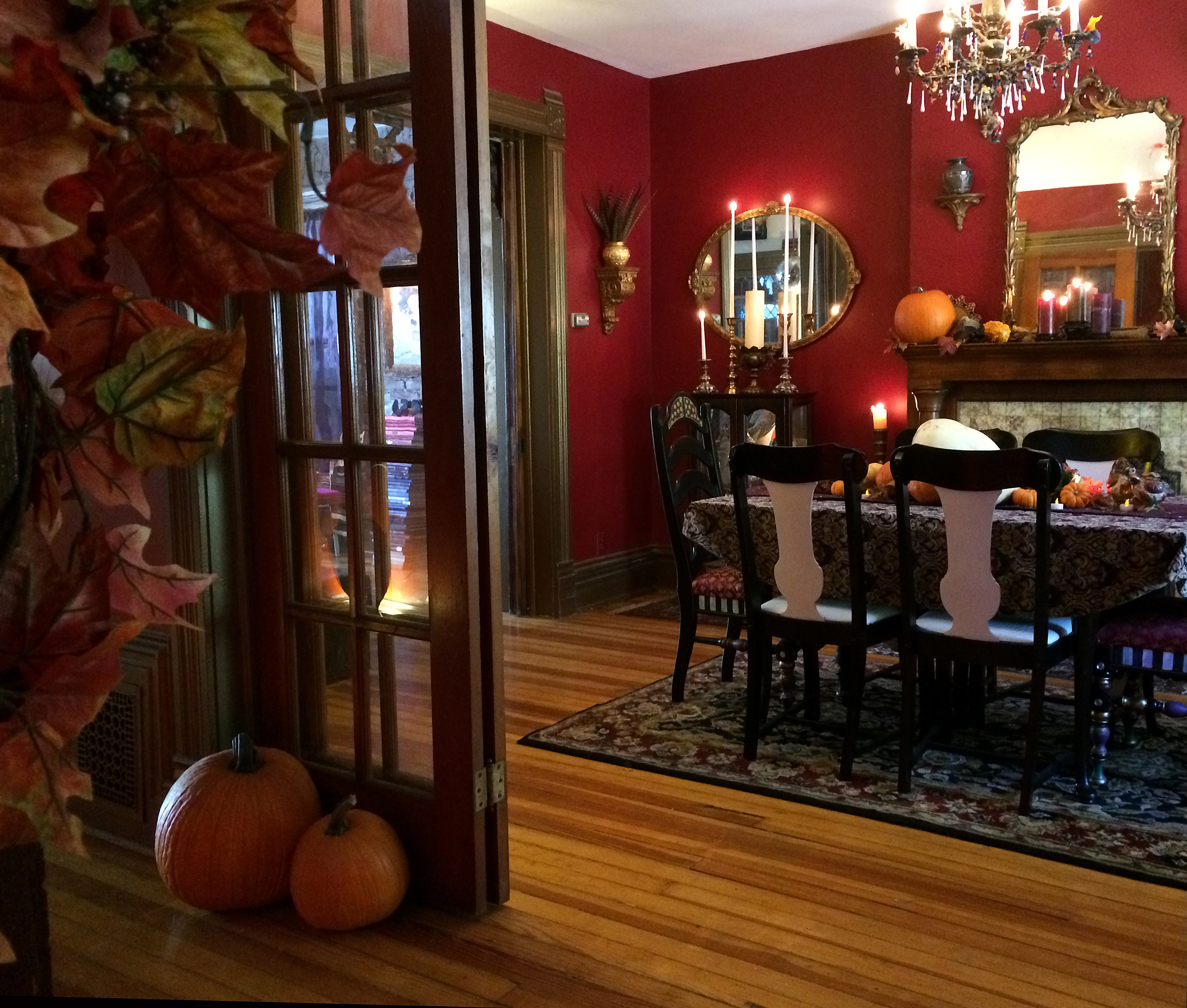 Fall Decorating Ideas For The Dining Room: The Year Of Living Fabulously